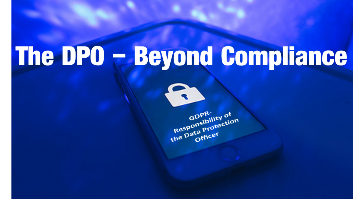 The DPO – Beyond Compliance