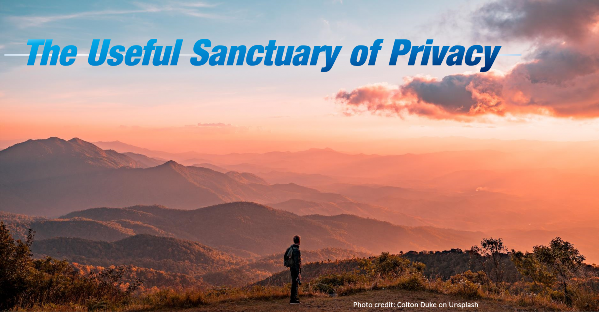 The Useful Sanctuary of Privacy